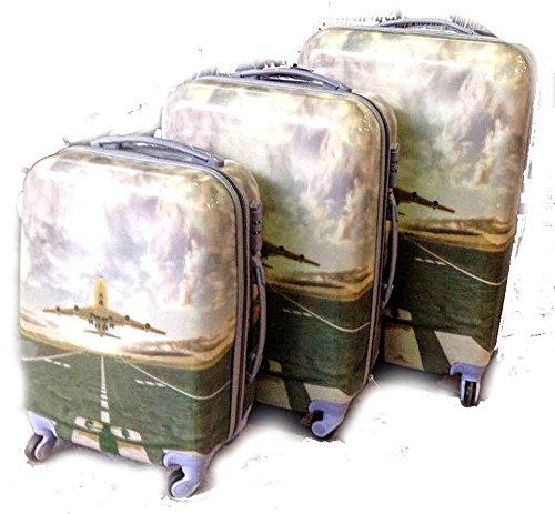 LBA Avión, Set de bagages Beige Beig