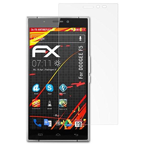 atFolix Schutzfolie kompatibel mit DOOGEE F5 Bildschirmschutzfolie, HD-Entspiegelung FX Folie (3X)