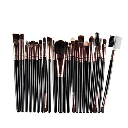 Makeup Brushes 22 PCS, Xjp Professional Cosmetic Brush Tool Toiletry Kit Brush Set