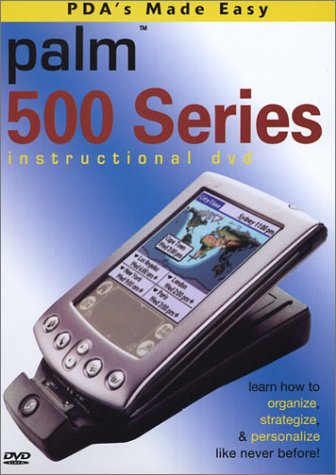 Palm Handheld 500 Series Instructional Training DVD (m515) (Serie 500 Palm)
