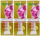 3x 15ml Garnier Skin Naturals Vital Aufbau Augenpflege für reife Augen 50+