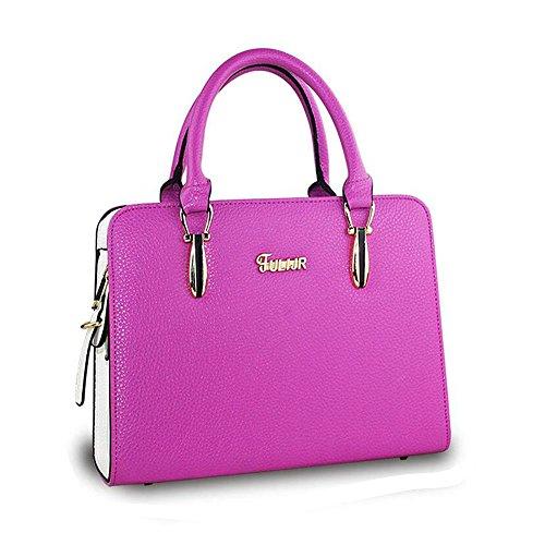 Toopot , Damen Tote-Tasche Violette Rose