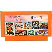 Rishil World 89 In 1 8 Bit Game Cartridge Super Contra For NES Nintendo FC
