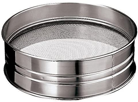 Paderno World Cuisine 13-3/4-Inch Diameter Stainless Steel Sieve