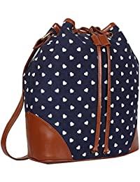 Lychee Bags Canvas Shaun Sling Bags for Girls