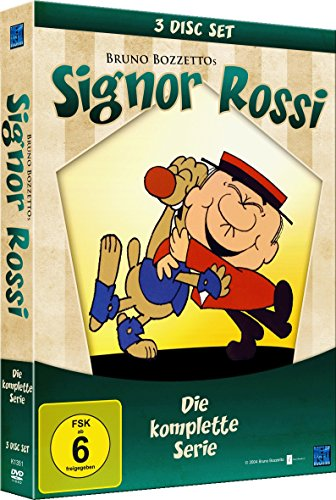 Signor Rossi - Die komplette Serie  [Collector's Edition] [3 DVDs]