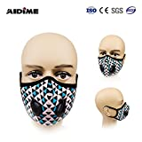 #7: PM2.5 N99 Activated Carbon Filters Pollution Mask For Bikers & Outdoor Face Mask
