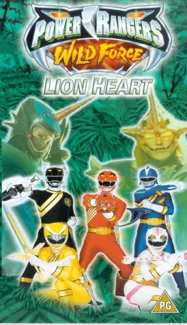 Image of Power Rangers: Wild Force - Lion Heart [VHS]