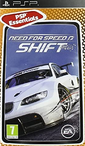 NEED FOR SPEED SHIFT (ESSENTIALS) PSP
