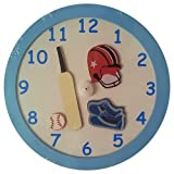 Blooming Buds Sports Economy Clock ( Mul...