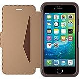 OtterBox Strada sturzsichere Folio Leder Schutzhülle für Apple iPhone 6 / 6s saddle, Braun preiswert