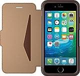 Otterbox Strada Etui en cuir véritable antichoc fin/élégant pour Iphone 6 et 6S Marron