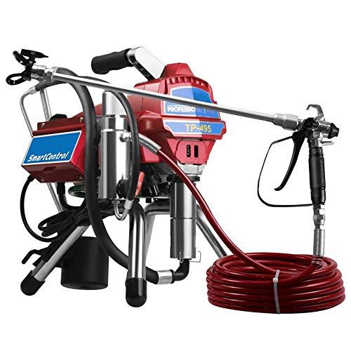 Farbspritzmaschine, elektrische Airless-Hochdruck-Farbspritzanlage, Edelstahlpumpe 3000W 10L / min für Wanddecken-Metallfarbe - Zoom Paint