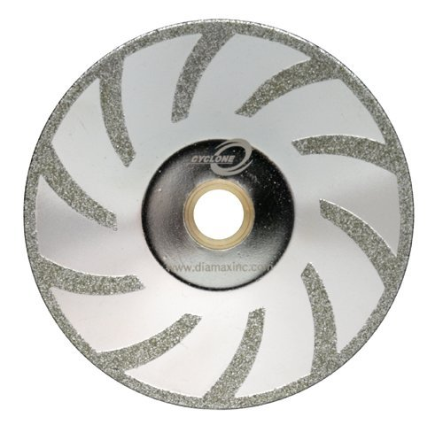 5 Cyclone Electroplated Diamond Contour Blade for Marble by Cyclone (Contour Diamond Blade)