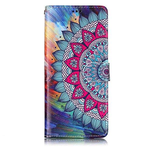 inShang Coque pour Samsung Galaxy Note 8 Housse avec Design Wallet intégré, Case Cover Note8 avec Fonction de Support.