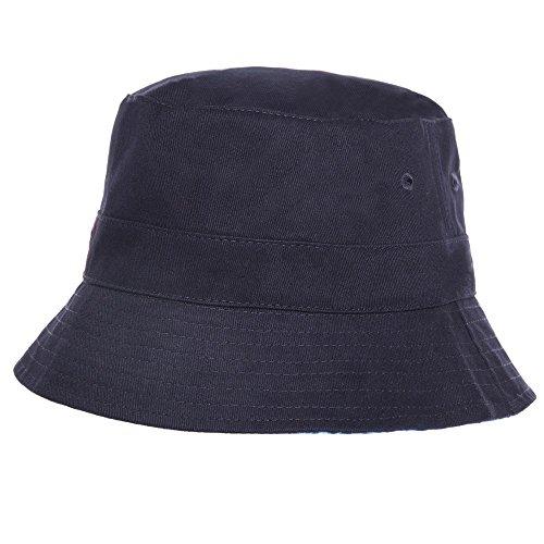 Superdry Reversible Bucket Homme Hat Bleu Bleu