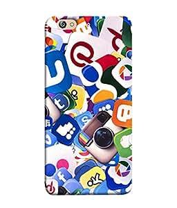 PrintVisa Designer Back Case Cover for Gionee S6 (Facebook Whatsup Camera Picasa Twitter Google Youtube)