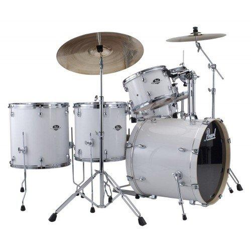 batterie-pearl-export-rock-22-arctic-sparkle-avec-cymbales