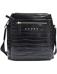 9548808c3d27 Cross Zaragoza Men s CROSS Body Bag-Black (AC251058B)