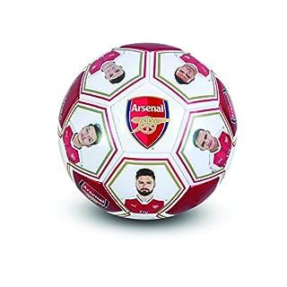 Arsenal F.C. Größe 5Fußball mit der Spieler Signature und Bilder
