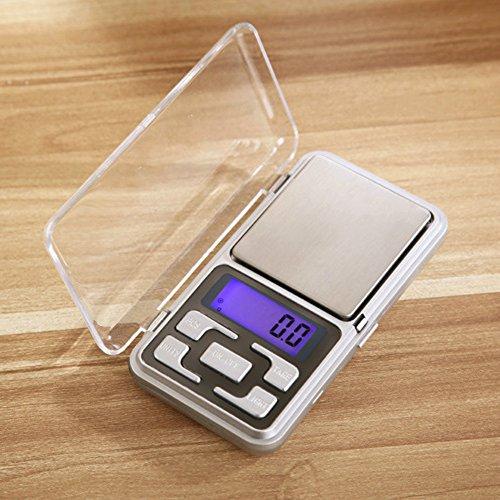Balance de poche numérique portable LCD électronique balance de bijoux Doré Diamant balance balance de précision Outil de pesée, 100 g 0,01 g