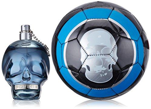 Police To Be Coffret cadeau pour homme comprenant : 1 eau de toilette (125 ml) + 1 ballon de football