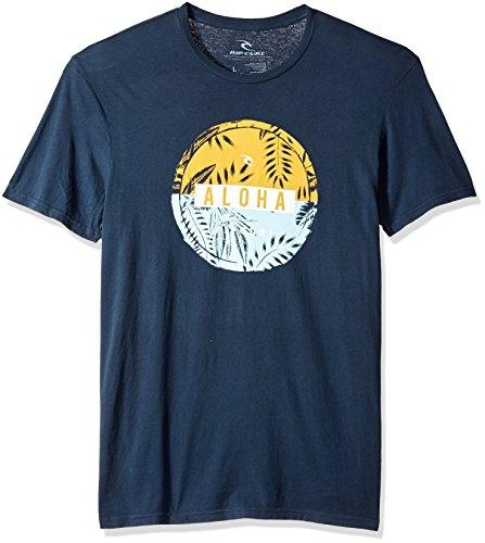 Rip Curl Herren Ahi Heritage Tee T-Shirt, Navy, X-Groß -