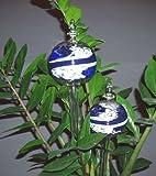 2 Durstkugeln im Set Blau Bewässerungskugeln Durstkugel Pflanzensitter