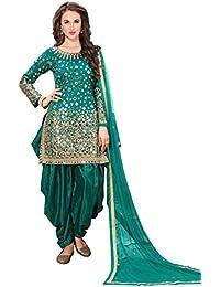 12fd13b791e Amazon.in  Anarkali - Dress Material   Ethnic Wear  Clothing ...
