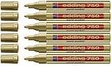 EDDING MARCADOR PINTURA 750 6 spapack - oro