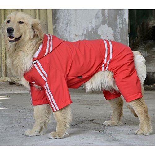 VICTORIE Pet Impermeable Poncho Rain Cover Jacket