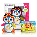 MUSICAL LEARNING TOY For Babies - FREE Alphabet Book. Finest Learning Penguin Toy With Songs-Learning & Kids Stories. BEST Educational Toy Entertains Your Kids By Talking-Walking & Swinging Wings. Develops Motor Skills & Encourages Exploration In Children. Limited Offer BUY NOW