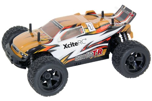 XciteRC Truggy one16 TR - Radio-Controlled (RC) land vehicles (Ión de litio, Cochecito de juguete)