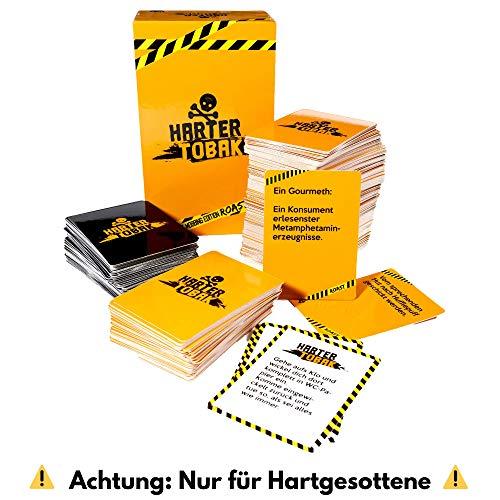 Harter Tobak Spiel (Die Mobbing Edition) - Das Brutal Lustige Kartenspiel Für Erwachsene - Deine Freunde Mobben Und Dafür Gefeiert Werden - Kein Gewöhnliches Brettspiel Oder Gesellschaftsspiel