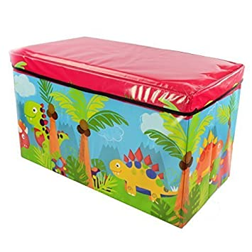 Marvelous Foldable Large Soft Toy Storage Box For Kids | Wooden Chest Seat For Baby  Clothes | Container Book Bench For Boy And Girl | Nursery Trunk |  59x35x30cm ...