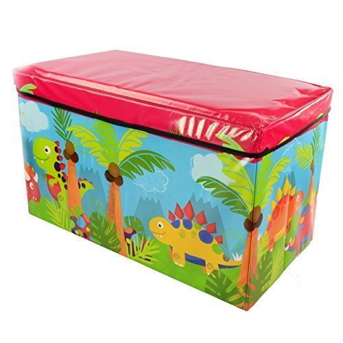 Kids Childrens Large Storage Toy Box Boys Girls...
