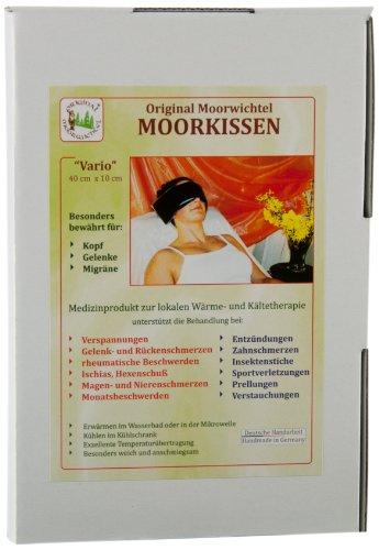 Preisvergleich Produktbild Original Moorwichtel Uni Moorkissen Vario, schwarz, 621100