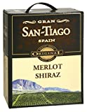 San-Tiago - Merlot Shiraz Rotwein 14% Vol. - 3l Bag-in-Box