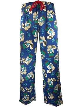Mens Dark Blue Family Guy Loungepants in XXL