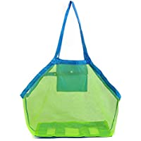 Bolsa de malla Vi.yo de arena grande, ideal para guardar juguetes infantiles,