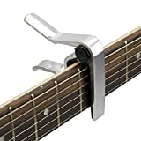 Tiger Music GACAPO2 Capo for Guitar - Chrome Bild 2