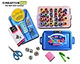 #4: CreativeVia Multipurpose Tailoring Kit Thread Box Sewing Kit