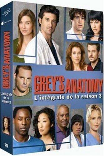Grey's Anatomy : L'intégrale saison 3 - Coffret 7 DVD