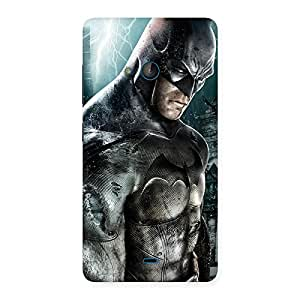 Delighted Premier Knight Force Multicolor Back Case Cover for Lumia 540