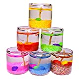 #7: Satyamani Festive Handicraft Glass Gel Candles (Set of 6 PCS)