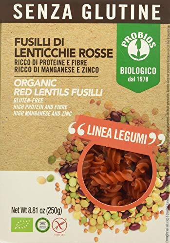 Probios fusilli lenticchie rosse - 250 gr