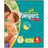 Pampers Baby Dry Size 4 Maxi Small Pack 20 Nappies