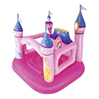 Disney Princess Bestway Bouncy Castle - Pink