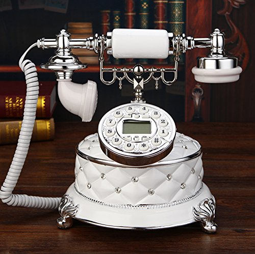 motesuvar inalámbrico funda para tarjeta, antiguo teléfono, teléfono retro Set