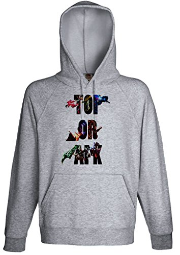 Gamer Quote Top or AFK Hoodie Custom Made Hooded Sweatshirt (S)